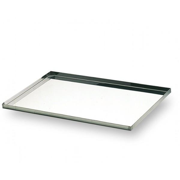 plaque inox 600x400 mm bords a 45 boutique les ateliers de la queille. Black Bedroom Furniture Sets. Home Design Ideas