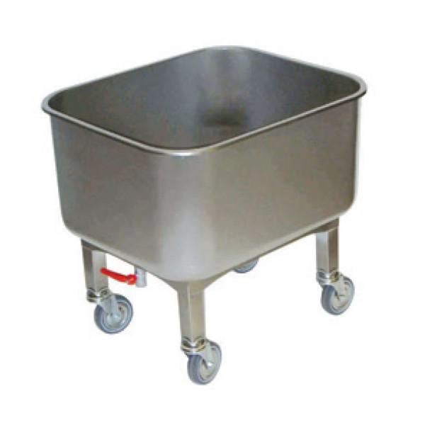Cuve roulante inox avec robinet de vidange boutique les for Cuve inox cuisine