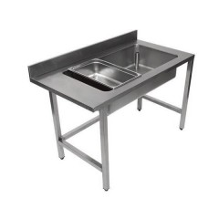 TABLE INOX DE DEBOITAGE