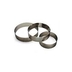 Cercle a pâtisserie hauteur : 50 mm