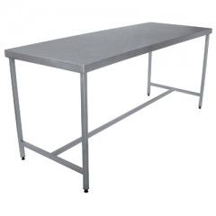 TABLE INOX DEMONTABLE CENTRALE