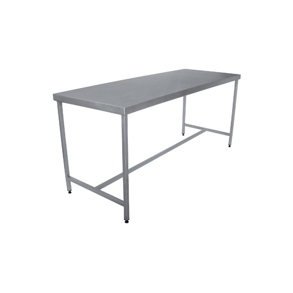 Table Centrale Cuisine: TABLE INOX DEMONTABLE CENTRALE