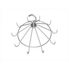 COURONNE INOX 10 ACCROCHAGES